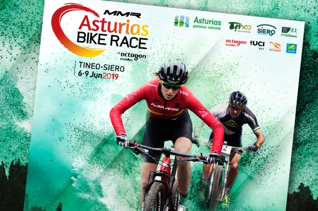 Official poster of MMR Asturias Bike Race 2019!